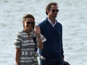 Newlyweds Pippa Middleton and James Matthews.