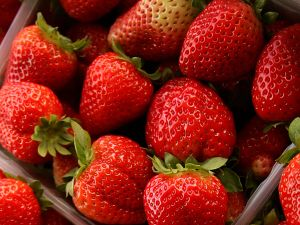 Strawberries are loaded with Vitamin C for brightening.