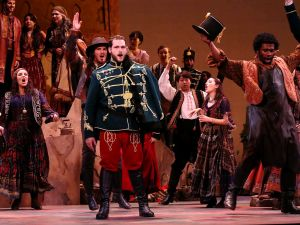 """War, what is it good for? Uniting cultures, explains baritone Michael Gracco in 'The Gypsy Baron."""""""