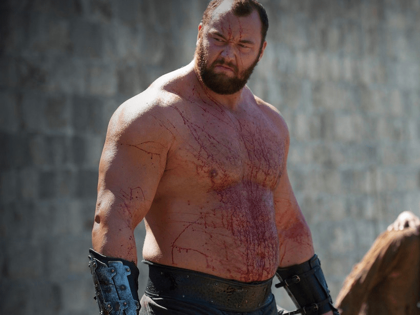 The Mountain From 'Game of Thrones' Lost World's Strongest Man Is Still Very Strong