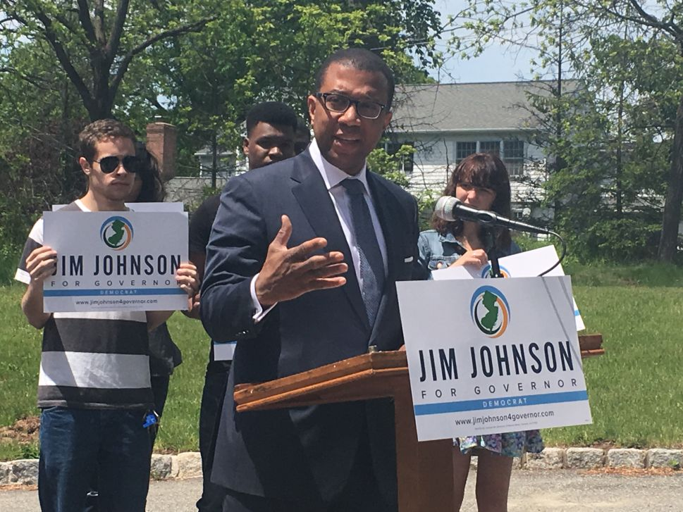 Johnson Says His Platform Would Stump Trump