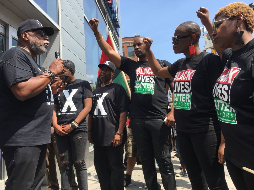 Black Power Marchers Shut Down Harlem Businesses for Malcolm X Day