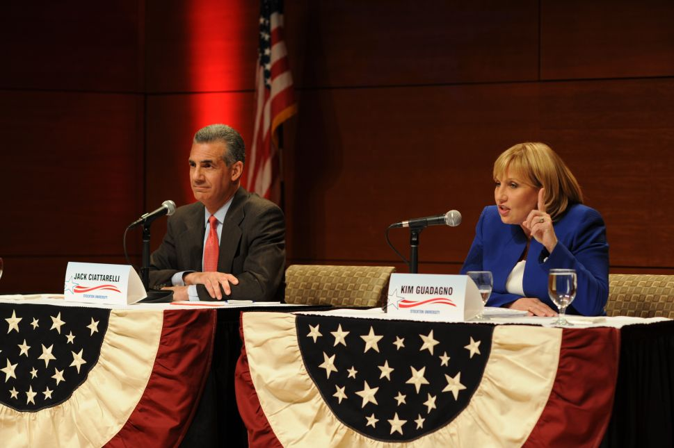 Guadagno Itching to Talk Taxes With Murphy at Debates