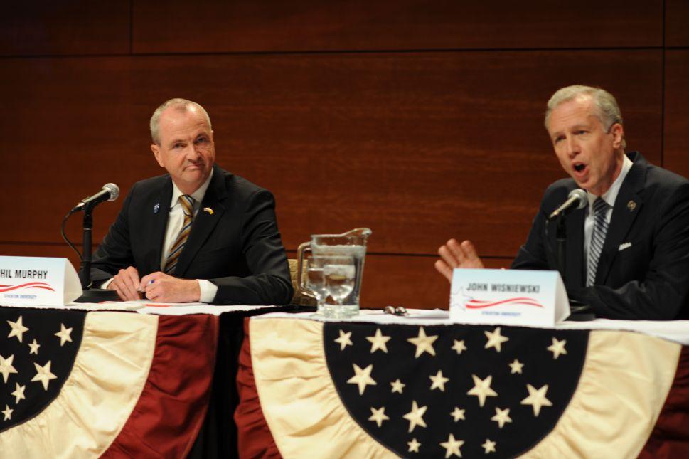 NJ Gov Race: Democrats Agree a Lot; Murphy Takes Some Heat