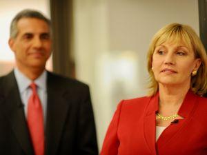 Jack Ciattarelli and Kim Guadagno.
