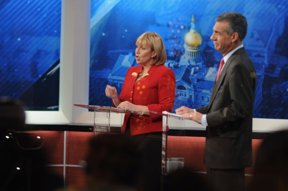 NJ Gov Race: Debates Set for October