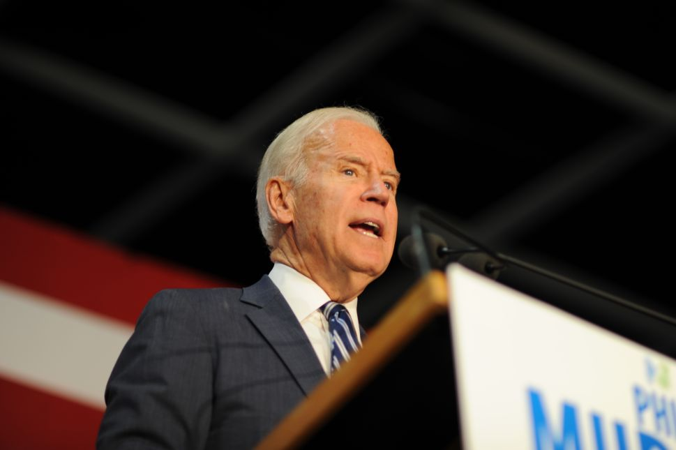 Biden: Murphy's Goldman Sachs Experience a Strength, Not Weakness