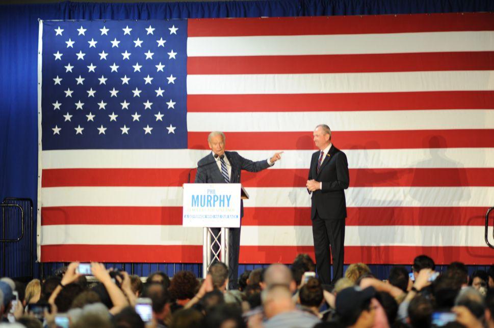 Video: Joe Biden Stumps for Murphy in NJ