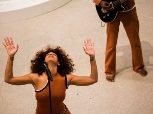 Solange performs at Solange: An Ode To, part of Red Bull Music Academy Festival