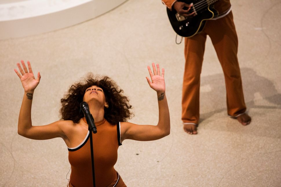 Solange's Guggenheim Show Fills a White Institution With Blackness