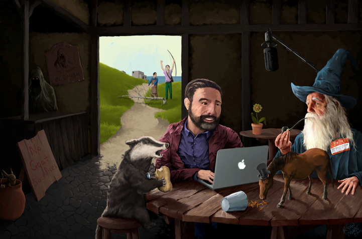 People Who Podcast: Improv Meets Tolkien Adventures in 'Hello From the Magic Tavern'
