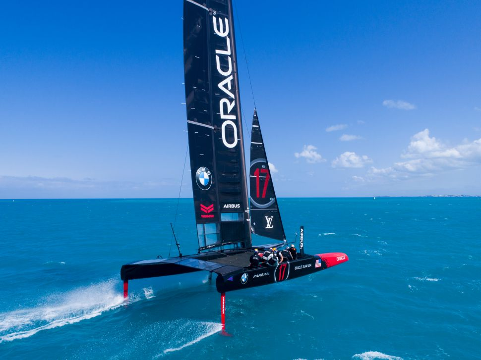 This Could Be the Fastest Boat in The America's Cup