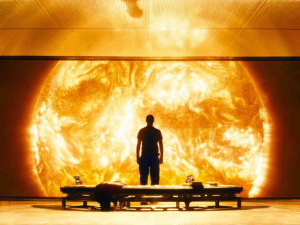 "A scene from Danny Boyle's ""Sunshine"""