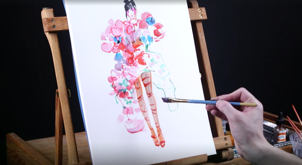 Celebrities at the Met Gala Made Great Subjects for Live Painting