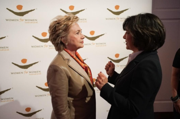 Hillary Clinton Dismantled the Patriarchy at a Park Avenue Luncheon