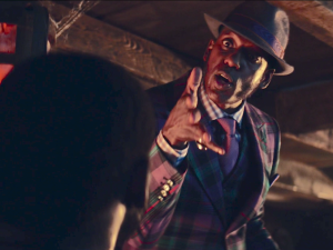 Orlando Jones as Anansi.