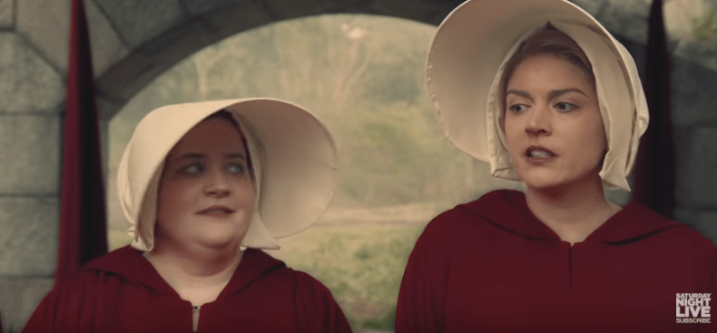 SNL's Good Sketch This Week Was About 'The Handmaid's Tale'