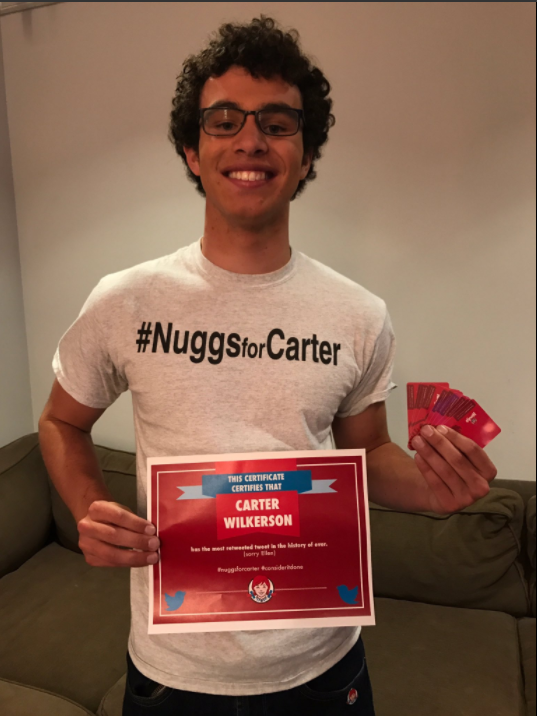 The Wendy's Nugget Guy Just Beat Ellen's Twitter Record—And Won Chicken for a Year