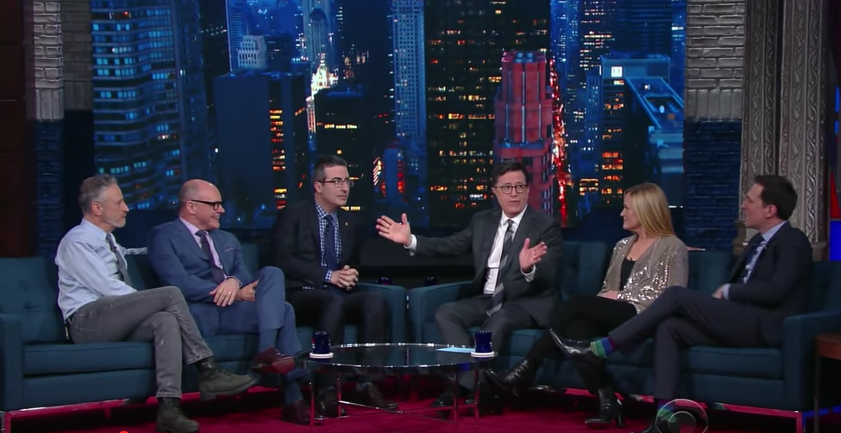 ICYMI: Colbert Hosted a 'Daily Show' Reunion Last Night