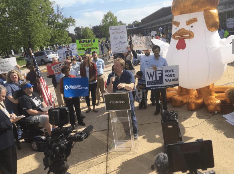 AHCA Opponents Rally Against NJ's MacArthur