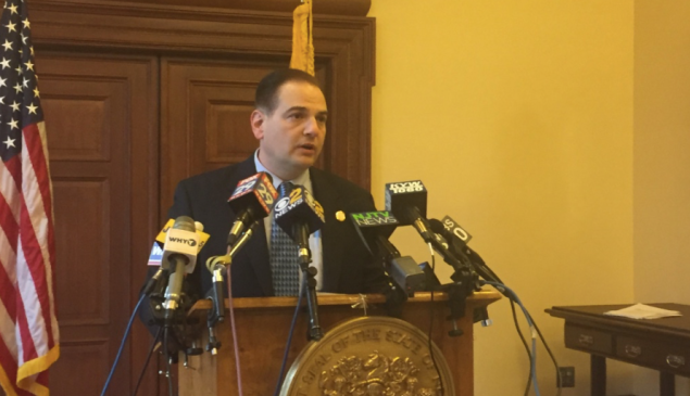 N.J. State Sen. Nick Scutari, who is pushing for the state to legalize marijuana by next spring