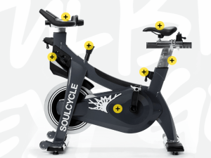 The new SoulCycle bike.