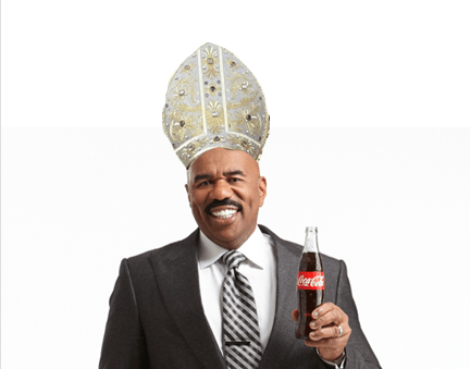 Steve Harvey Should Be 'The New Pope'
