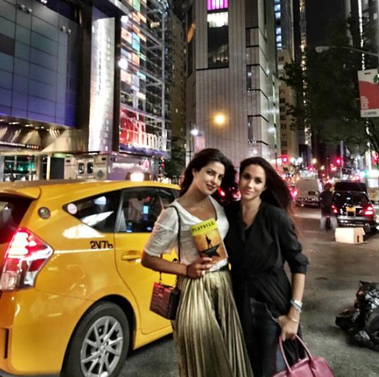 Meghan Markle's Friend Priyanka Chopra Is Ready for a Royal Wedding