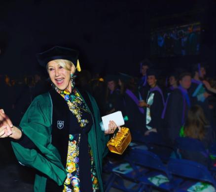 Helen Mirren's Tulane Graduation Speech Was Entirely Original