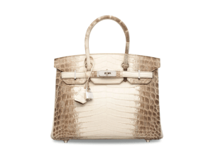 This is one pricey bag.