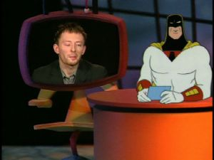 Space Ghost and Thom Yorke.