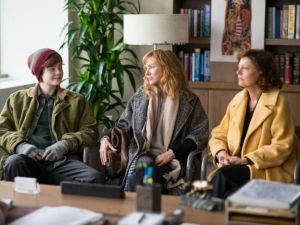 Elle Fanning, Naomi Watts and Susan Sarandon in 3 Generations.