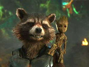 Groot and Rocket do not approve of Twitter trolling.