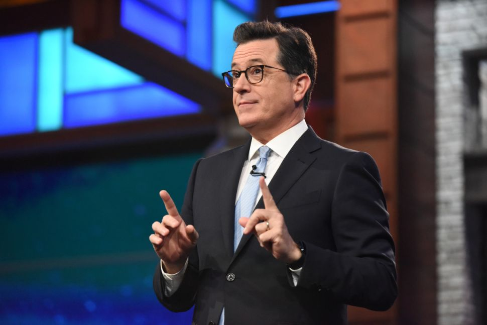 'Late Show' EP Talks #FireColbert, Trumpian Politics and the Landscape of Late Night