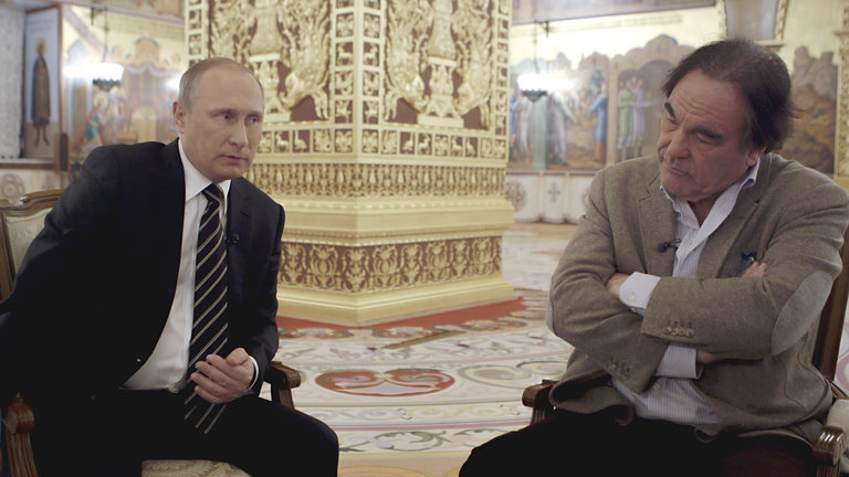 Oliver Stone on 'The Putin Interview': The Russian President 'Is a Smart, Soft Man'