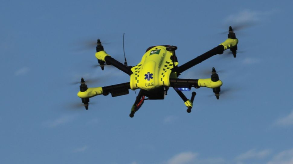 Drones Carrying Defibrillators Could Save Lives Faster Than Paramedics