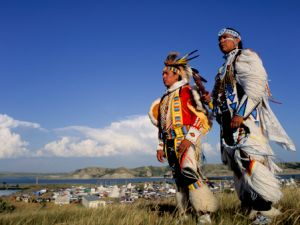 North Dakota Little Shell Pow-Wow Dancers
