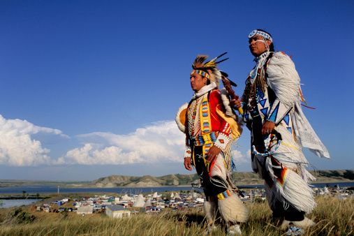 North Dakota Little Shell Pow-Wow Dancers