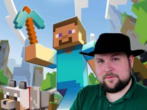 "Markus ""Notch"" Persson, developer of Minecraft."