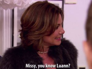 Countess Luann.