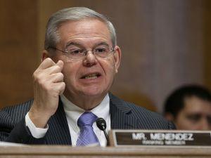 U.S. Sen. Robert Menendez.