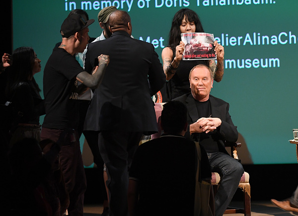 Here's Why Michael Kors Stormed Off Stage at The Met