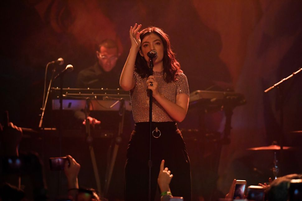 Lorde Celebrated the Release of 'Melodrama' With a Puzzle