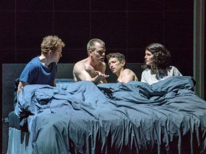 Lovers recall ex-lovers in 'Angels in America' at New York City Opera.