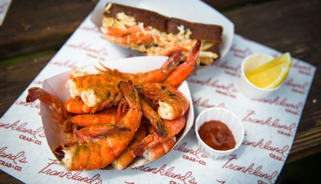Shuck and awe at Frankland's Crab & Co.