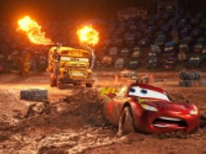Owen Wilson in Cars 3.