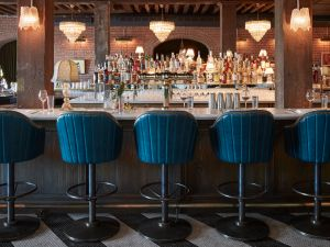 The space was designed by Soho House's in-house design team.