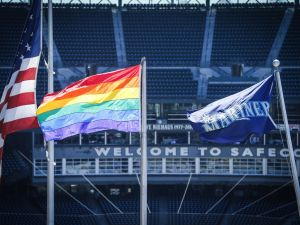 Love is love, especially on the baseball field.