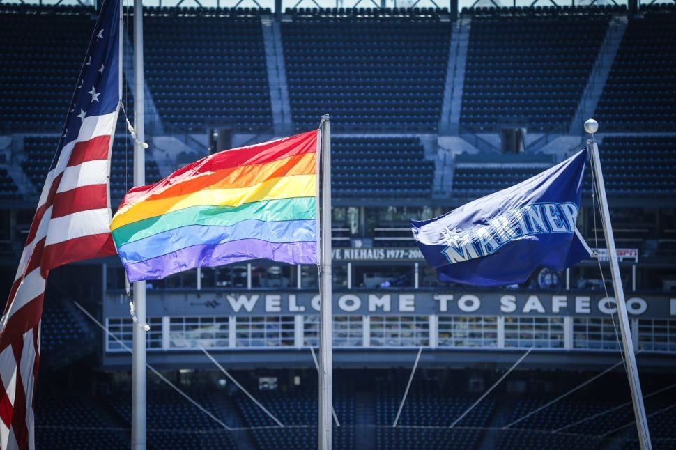 This MLB Team Clapped Back at the Homophobes Trolling Its LGBTQ Pride Night