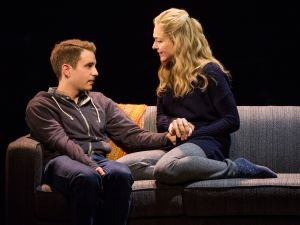 Ben Platt and Rachel Bay Jones in 'Dear Evan Hansen.'